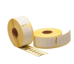 Dymo S0722520 compatible labels, 54mm x 25mm, 500 etiketten, wit, permanent