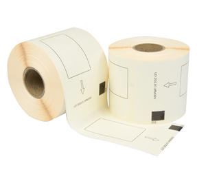Brother DK 11202 compatible labels, 62mm x 100mm, 300 etiketten, wit
