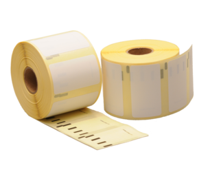 Dymo 11354 compatible labels, 57mm x 32mm, 1000 labels, white, removable