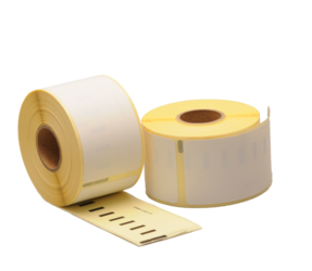Dymo 11356 compatible labels, 89mm x 41mm, 300 etiketten, blanco, verwijderbaar