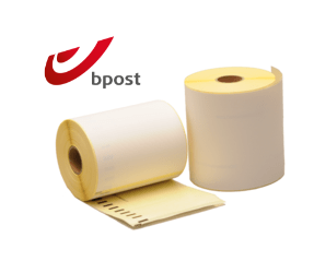Dymo S0904980 compatible labels Bpost, 104mm x 159mm, 220 etiketten, blanco, permanent