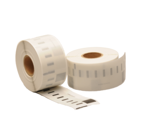 Dymo 99013 / S0722410 compatible labels, 89mm x 36mm, 260 etiketten, transparant, permanent
