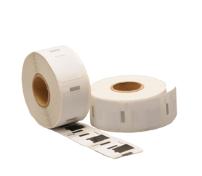 Dymo S0929120 compatible labels, 25mm x 25mm, 750 etiketten, blanco, permanent