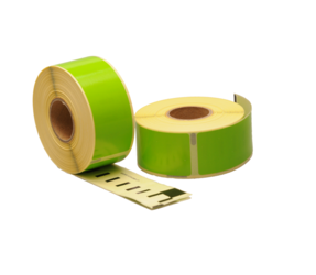 Seiko SLP-1GLB compatible labels, 89mm x 28mm, 260 etiketten, groen, permanent