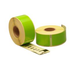 Afbeelding van Seiko SLP-1GLB compatible labels, 89mm x 28mm, 260 etiketten, groen
