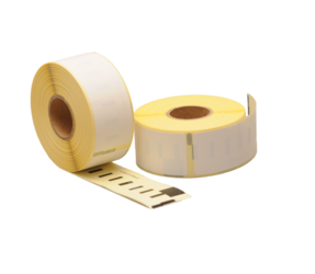 Seiko SLP-2RL compatible labels, 89mm x 28mm, 130 etiketten, blanco, permanent