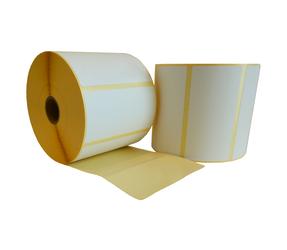 Zebra (87000) compatible labels, 100mm x 50mm, 1 300 labels, 25mm core,  white, permanent