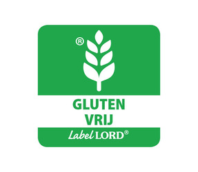 LabelLord Gluten-Vrij Aqualabel, afmeting: 25mm