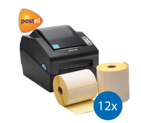 PostNL starterspakket: Bixolon SLP-DX420EG ethernet printer + 12 rollen Bixolon compatible labels 102mm x 150mm