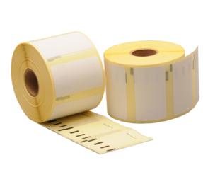Afbeelding van Duurzame Dymo 11354 compatible labels, 57mm x 32mm, 1.000 etiketten