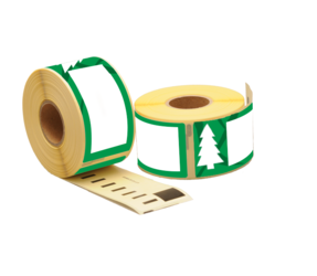 Dymo 99012 Holiday Tree Compatible Labels, 89mm x 36mm, 260 etiketten