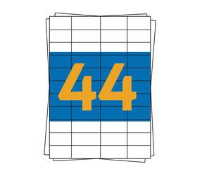 Afbeelding van Herma A4 Etiket 4272 compatible, 48,3mm x 25,4mm, 4400 stuks